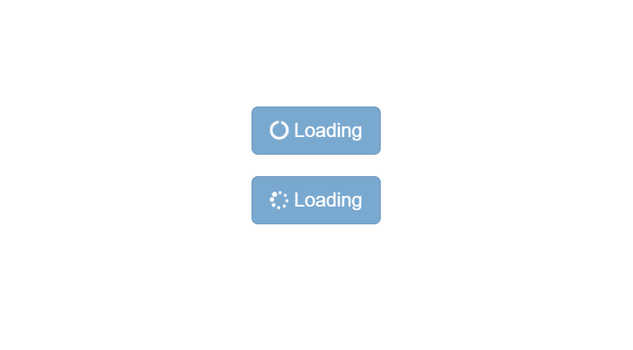 Bootstrap button loading – very easy method