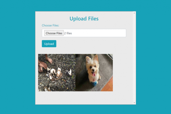Upload multiple files using PHP, jQuery and AJAX