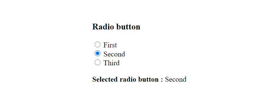 Get Selected Radio button value using jQuery