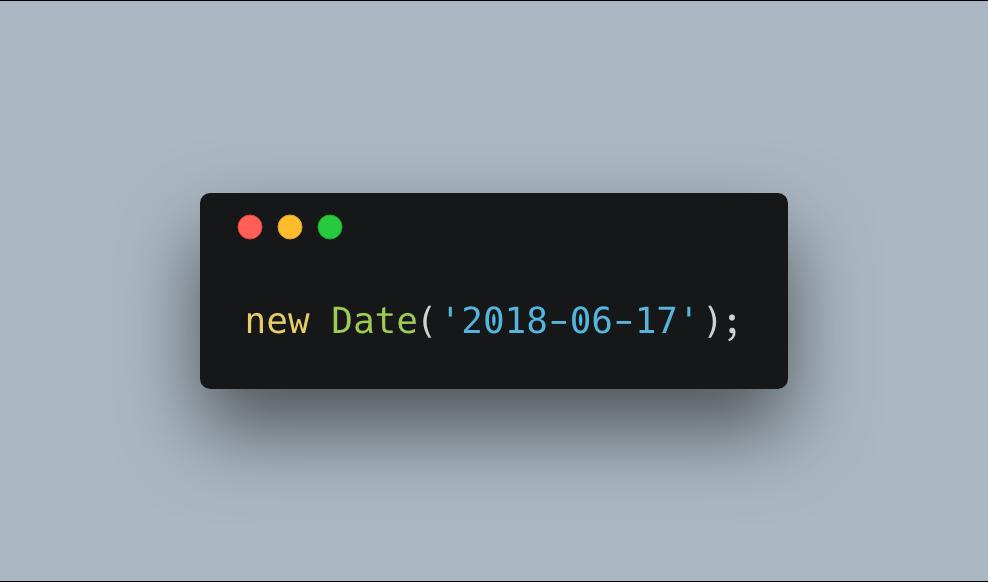 current date in javascript